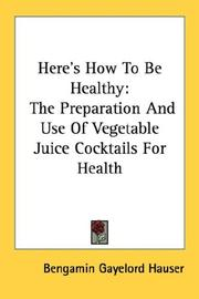 Heres How To Be Healthy