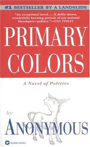 Cover of: Primary Colors | Anonymous