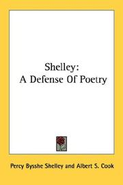 Cover of: Shelley | Percy Bysshe Shelley