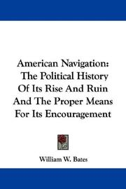 Cover of: American Navigation | William W. Bates