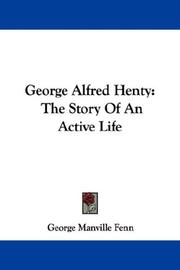 Cover of: George Alfred Henty | George Manville Fenn