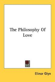 Cover of: The philosophy of love