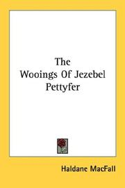 Cover of: The Wooings Of Jezebel Pettyfer