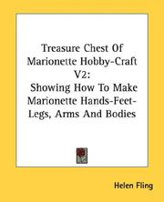 Cover of: Treasure Chest Of Marionette Hobby-Craft V2 | Helen Fling