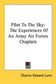 Cover of: Pilot To The Sky | Charles Edward Lunn