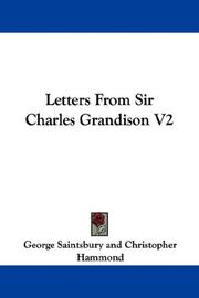 Cover of: Letters From Sir Charles Grandison V2