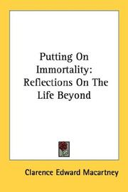 Cover of: Putting On Immortality