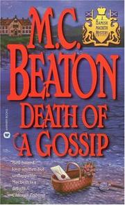 Cover of: Death of a gossip
