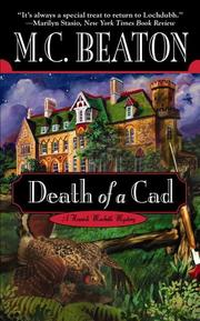 Cover of: Death of a cad