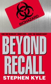 Cover of: Beyond recall | Stephen Kyle