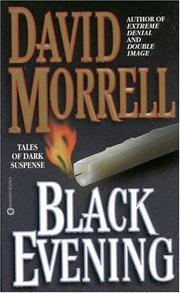 Cover of: Black evening