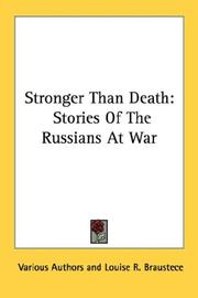Cover of: Stronger Than Death | Various Authors