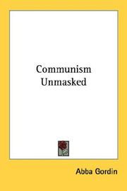 Cover of: Communism unmasked