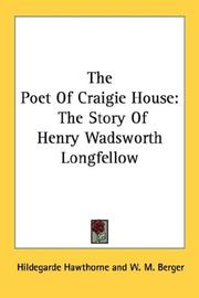 Cover of: The Poet Of Craigie House | Hildegarde Hawthorne