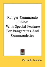Cover of: Ranger-Commando Junior | Victor E. Lawson
