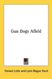 Cover of: Gun Dogs Afield