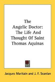 Cover of: The Angelic Doctor