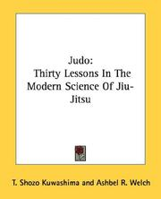 Cover of: Judo | T. Shozo Kuwashima