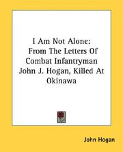 Cover of: I Am Not Alone