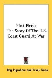 Cover of: First Fleet | Reg Ingraham