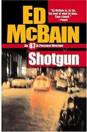 Cover of: Shotgun (87th Precinct Mysteries) | Ed McBain