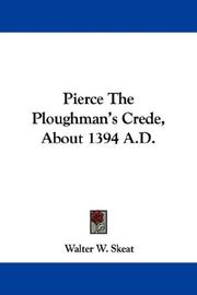Cover of: Pierce The Ploughman