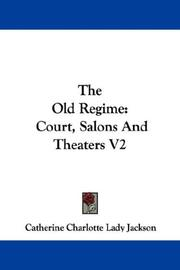 Cover of: The Old Regime