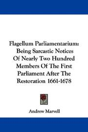 Cover of: Flagellum Parliamentarium