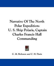 Cover of: Narrative Of The North Polar Expedition |