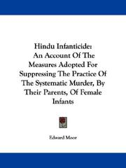 Cover of: Hindu Infanticide