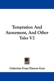Cover of: Temptation And Atonement, And Other Tales V2
