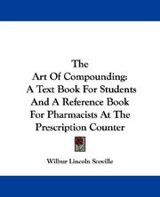 Cover of: The art of compounding