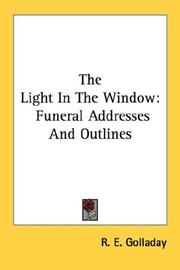 Cover of: The Light In The Window | R. E. Golladay