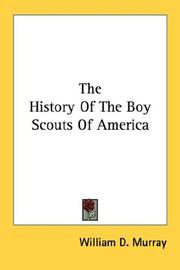 Cover of: The History Of The Boy Scouts Of America