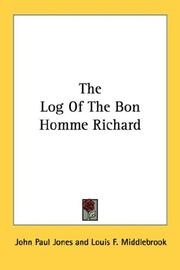 Cover of: The Log Of The Bon Homme Richard