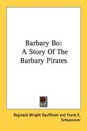 Cover of: Barbary Bo