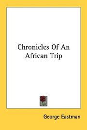 Cover of: Chronicles of an African trip