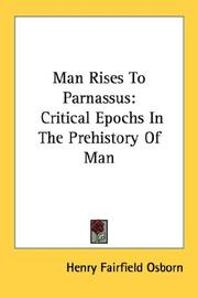 Cover of: Man rises to Parnassus