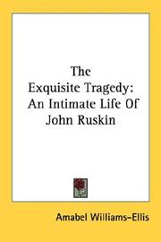 Cover of: The Exquisite Tragedy