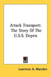 Cover of: Attack Transport