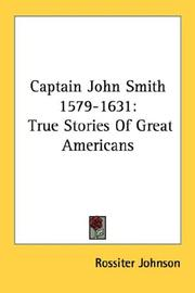 Cover of: Captain John Smith (1579-1631)