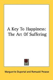 Cover of: A key to happiness