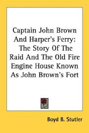 Cover of: Captain John Brown And Harper's Ferry