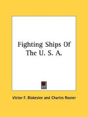 Cover of: Fighting Ships Of The U. S. A
