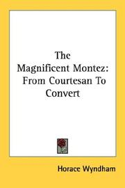 Cover of: The magnificent Montez