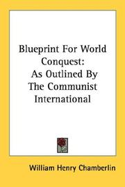 Cover of: Blueprint For World Conquest | William Henry Chamberlin