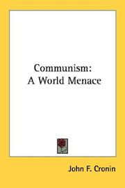 Communism by John F. Cronin