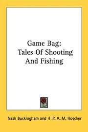 Cover of: Game Bag