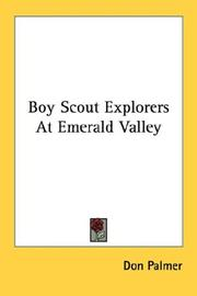 Cover of: The Boy Scout Explorers at Emerald Valley