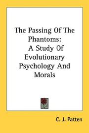 Cover of: The Passing Of The Phantoms | C. J. Patten